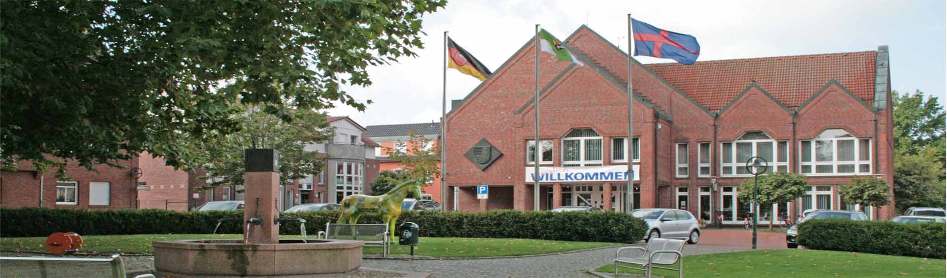 Steinfeld Banner 6 - Rathaus